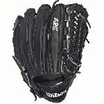 The Wilson A2K Series simply exudes greatness. These gloves were meticulously developed with a focus on durability and a break-in faster than you can imagine. Made from Pro Stock Select Leather, these gloves use only the top 5% of all hides Wilson purchases and were triple sorted for consistency and flawlessness. This unbelievable consistency in the leather leads to a stronger pocket and an all around higher quality glove. The A2K Series features Rolled Dual Welting where strips of Pro Stock Leather are skived thin and rolled to provide long-lasting shape. Inside, a thin, strategically cut piece of leather is placed between the palm and outer shell, providing maximum pocket stability and improving the durability where the most wear-and-tear is experienced. Its 2X Palm Construction also provides maximum shock resistance during the catch. A2K gloves showcase the time and passion that Wilson's craftsmen has put into every single glove they produce, as their master technicians spend 3X longer pounding and shaping the glove by hand before it even leaves the factory. That should be all the proof you need that the A2K from Wilson was created with unparalleled craftsmanship, and is one of the highest quality gloves a player could ever take to the diamond. This Wilson A2K Series: A2KRB16D33 features an 11.75 pattern size, a Closed Pro-Laced Web, and is a brand new pitcher-specific pattern created by Glove Master Craftsman, Shigeaki Aso.