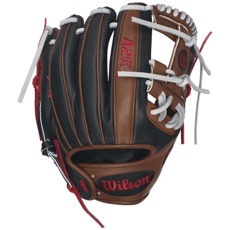 wilson-a2k-dp15gm-fielding-glove-11-5-right-handed-throw-a2krb16dp15gm-baseball-glove A2KRB16DP15GM-Right Handed Throw Wilson 887768359461 Work the infield with Dustin Pedroias 2016 A2K DP15 GM Baseball