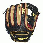 The Wilson A2k Baseball Glove Brandon Phillips glove model made a return trip to the Wilson Glove Lab to make his 2016 A2K DATDUDE GM. This year it is all about the faux Snakeskin ProStock Select leather along the back fingers of BP's glove. No other glove has this premium textured leather.  The 11.5 length and H-web keep the pocket shallow so Brandon can maintain his NL-leading .996 fielding percentage from last season. The A2K DATDUDE GM baseball glove looks, fits, and feels as good as it performs. The A2K is the most premium baseball glove available from Wilson. It is made with ProStock Select leather which is chosen for its consistency and flawlessness making it the ideal leather for a baseball glove. Glove Master Craftsman, Shigeaki Aso designed this line with Rolled Dual Welting, Double Palm Construction and more craftsman shaping so that the A2K breaks in quicker and lasts longer. Size 11.5 inch Baseball Infield Model. H-Web Pattern. Faux Snakeskin Pro Stock™ Select Leather. 2X Palm Construction provides maximum pocket stability. Rolled Dual-Welting for quicker break in. Brandon Phillips Game Model. Signature Brandon Phillips Double Play icon. 3X more craftsman shaping at the factory means your glove is pounded and shaped by a master technician at the factory, reducing break in time for you.