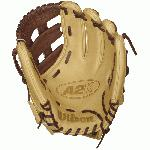 The A2K DW5 GM Baseball Glove plays big for an infield glove while offering great control. Developed by Wilson Master Craftsman, Shigeaki Aso, and MLB® third baseman, David Wright, the DW5 is built with extra long fingers to provide as much lateral range at the hot corner as possible. David designed his 2016 Wilson Game Model glove with blonde and dark brown Pro Stock Select Leather. The A2K is the most premium baseball glove available from Wilson. It is made with ProStock Select leather which is chosen for its consistency and flawlessness making it the ideal leather for a baseball glove. Glove Master Craftsman, Shigeaki Aso designed this line with Rolled Dual Welting, Double Palm Construction and more craftsman shaping so that the A2K breaks in quicker and lasts longer. Throwing Hand RIGHT. Glove Size: 12.00 inch. Infield Model. Dual Post Web Pattern. Pro Stock Select Leather. 2X Palm Construction provides maximum pocket stability. Rolled Dual-Welting for quicker break in. 3X more craftsman shaping at the factory means your glove is pounded and shaped by a master technician at the factory, reducing break in time for you.