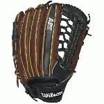 Hit the field with Wilson's most popular outfield model, the KP92. Developed with MLB® legend Kirby Puckett, this glove is favored for its length and reinforced bar across the top of the trap for additional pocket stability and snow cone catches. The A2K is the most premium baseball glove available from Wilson. It is made with ProStock Select leather which is chosen for its consistency and flawlessness making it the ideal leather for a baseball glove. Glove Master Craftsman, Shigeaki Aso designed this line with Rolled Dual Welting, Double Palm Construction and more craftsman shaping so that the A2K breaks in quicker and lasts longer. 12.5 inch. Outfield Mode Pro Laced T-Web Patter. Pro Stock Select Leather. 2X Palm Construction provides maximum pocket stability. Rolled Dual-Welting™ for quicker break in. 3X more craftsman shaping at the factory means your glove is pounded and shaped by a master technician at the factory, reducing break in time for you. Available in right hand throw and left hand throw. Throwing Hand Left and Right Age Group Adult Position Outfield.