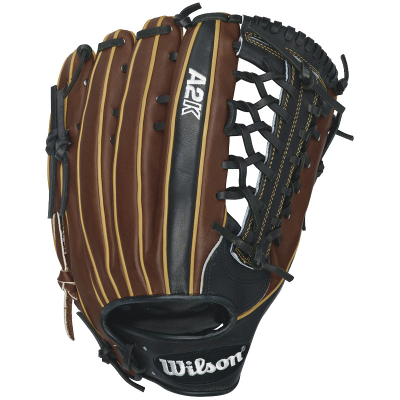 wilson-a2k-kp92-fielding-glove-12-5-right-handed-throw-a2krb16kp92-baseball-glove A2KRB16KP92-Right Handed Throw Wilson 887768359522 Hit the field with Wilsons most popular outfield model the KP92.