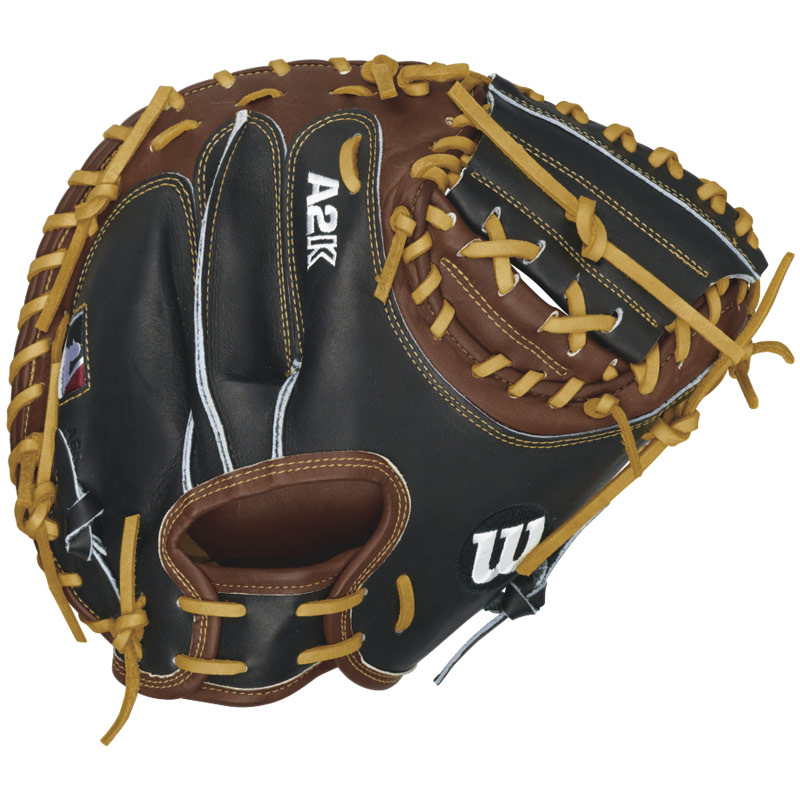 wilson-a2k-pudge-catchers-mitt-32-5-right-handed-throw-a2krb16pudge-baseball-glove A2KRB16PUDGE-Right Handed Throw Wilson 887768359546 Wilson A2K Catcher Baseball Glove 32.5 A2K PUDGE-B Every A2K Glove