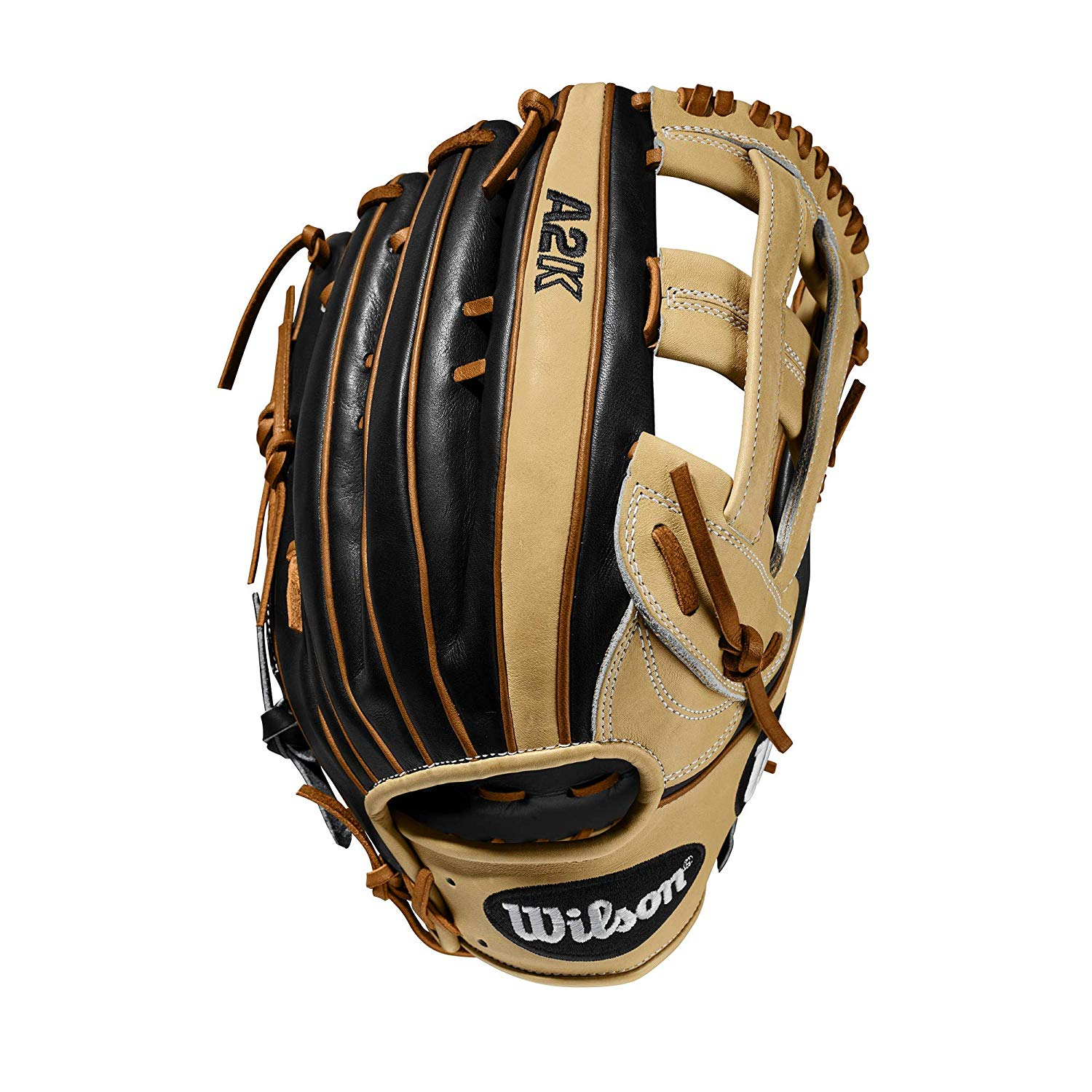 wilson-a2k-rb20-1799-baseball-glove-12-75-right-hand-throw WTA2KRB201799-RightHandThrow Wilson 887768815264 Dual Post Web Design and three times more shaping to help