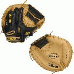 A500 CM32- 32 Wilson A500 CM32 Catcher's MittA500 32 Catchrs Baseball Glove - Right Hand ThrowWTA05RB16CM Designed for youth players, the 34 A5000 Catcher's MItt is built with a 12 Moon Web and is a replica of the A2000 1790 SS model, making it the ideal glove for young backstops.The A500 is the lightest all-leather glove on the market. The glove's top-grain leather provides a flexible, ready-to-play feel that performs without the extra weight of other leather gloves. 32 Catcher's Model Replica of the A2000 1790 SS modelPro Laced T-WebGame-ready top grain leather shell provides all the feel without the wieght2x Palm Construction to reinforce the pocketDual WeltingTM for a durable pocketThe lighest all-leather glove on the market CatcherRHT 32 12 Moon WebGame Ready Top Grain LeatherA800 CM34 Showtime CM34A1K CM33 A1074 Wilson Players Video