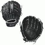 wilson a500 y puig baseball glove 12 5 inch blackwhitered right hand throw