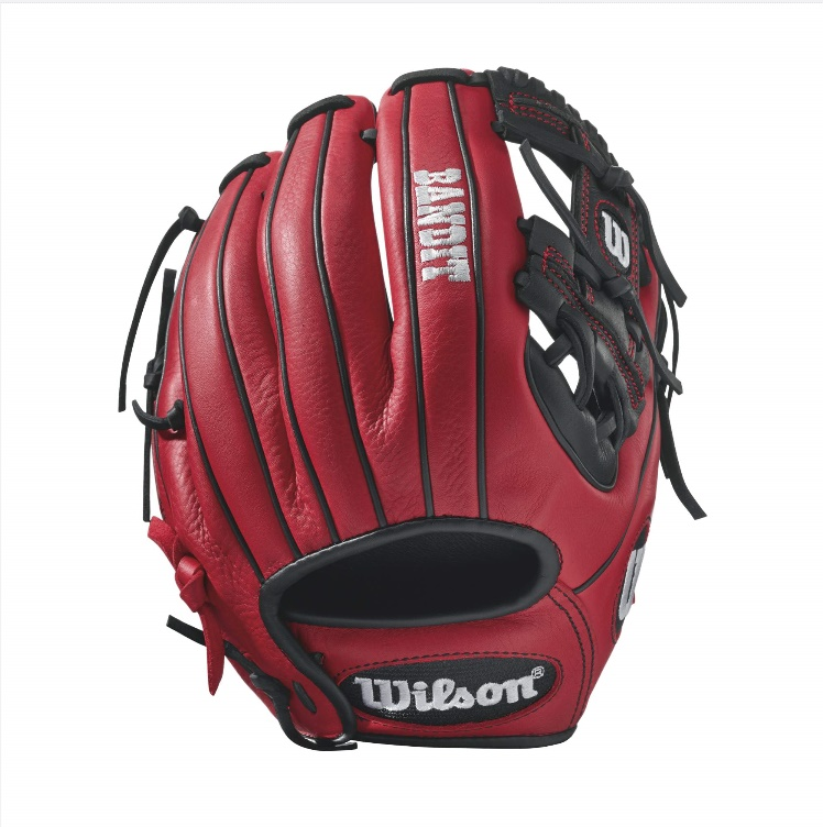 wilson-bandit-1786-pedroia-fit-baseball-glove-11-5-inch-redblack-right-hand-throw A12RB171786PF-RightHandThrow Wilson 887768498467 Bandit 1786 Pedroia Fit - 11.5 Wilson Bandit 1786 Pedroia Fit