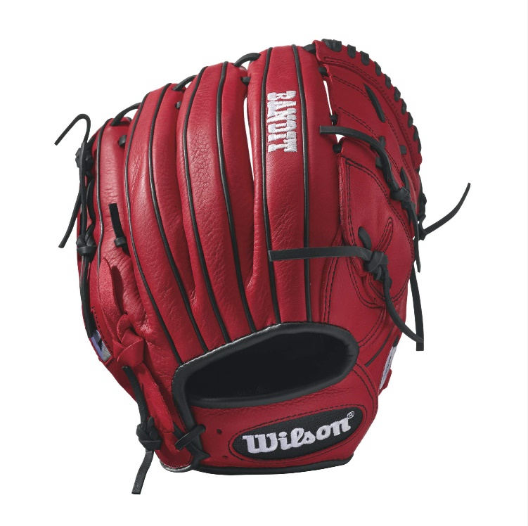 wilson-bandit-b212-baseball-glove-12-inch-red-right-hand-throw A12RB17B212-RightHandThrow Wilson 887768498481 Bandit B212 - 12 Wilson Bandit B212 Pitcher Baseball GloveBandit B212