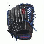 Bandit - 12.5 Wilson Bandit KP92 Outfield Baseball Glove Bandit KP92 12.5 Outfield Baseball Glove - Right Hand Throw Bandit KP92 12.5 Outfield Baseball Glove - Left Hand Throw WTA12RB17KP92 WTA12LB17KP92 The KP92 12.5 Bandit outfield glove is made with black Soft Full-Grain Steerhide leather, a Pro Laced T-Web and is perfect for the young travel outfielder. Using some of Wilson's most popular color palettes, the Bandit is the glove for the young travel ballplayer who likes a little style to go along with his on-the-field substance. Its soft full-grain steerhide brings the perfect balance of minimal break-in and outstanding durability.12.5 Outfield Model Pro Laced T-Web Soft Full-Grain Steerhide Leather Outfield Both12.5 Pro Laced T-Web Soft Full-Grain Steerhide Leather A1K OF1225Bandit B212A2000 T-ShirtGlove Care Kit Aso-San Glove Mallet Aso breaks in Brandon Phillips Glove