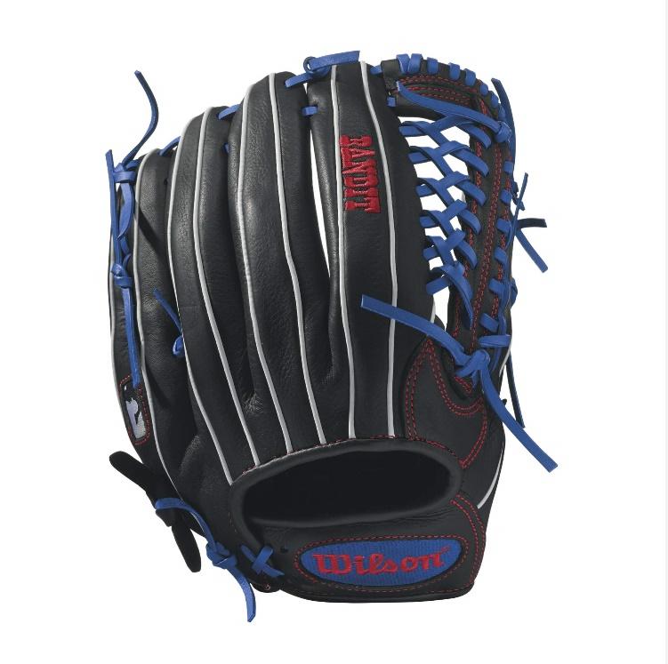 wilson-bandit-kp92-baseball-glove-12-5-inch-blackroyalwhite-left-hand-throw A12LB17KP92-LeftHandThrow Wilson 887768498443 Bandit - 12.5 Wilson Bandit KP92 Outfield Baseball Glove Bandit KP92