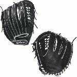 Wilson Onyx Laced Post Web Fastpitch Glove 12.75 BlackWhite Right Hand Throw