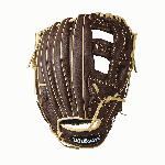 Single post web Double palm construction to reinforce the pocket Full leather construction for a better break in Dual welting for a durable pocket Low profile heel makes glove for forgiving on bad hop grounders Hit the field game ready with the NEW Wilson Showtime slow pitch glove. With a full leather construction, the Showtime is ready when you are. Your new gamer has a low profile heel and double palm construction so that you will good to go all season long. - 13 Inch Slow pitch Model - Double Palm Construction to reinforce the pocket - Full Leather Construction for a better break in - Dual Welting for a durable pocket - Low profile heel makes glove for forgiving on bad hop grounders