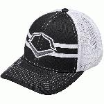 56% Polyester42% Cotton2% SPANDEX Imported Flex-fit style trucker hat Breathable White mesh back Pre-formed bill and flexfit band for ultimate comfort fit Available in: s-m (7 - 7 14) and l-xl (7 38 - 7 58)