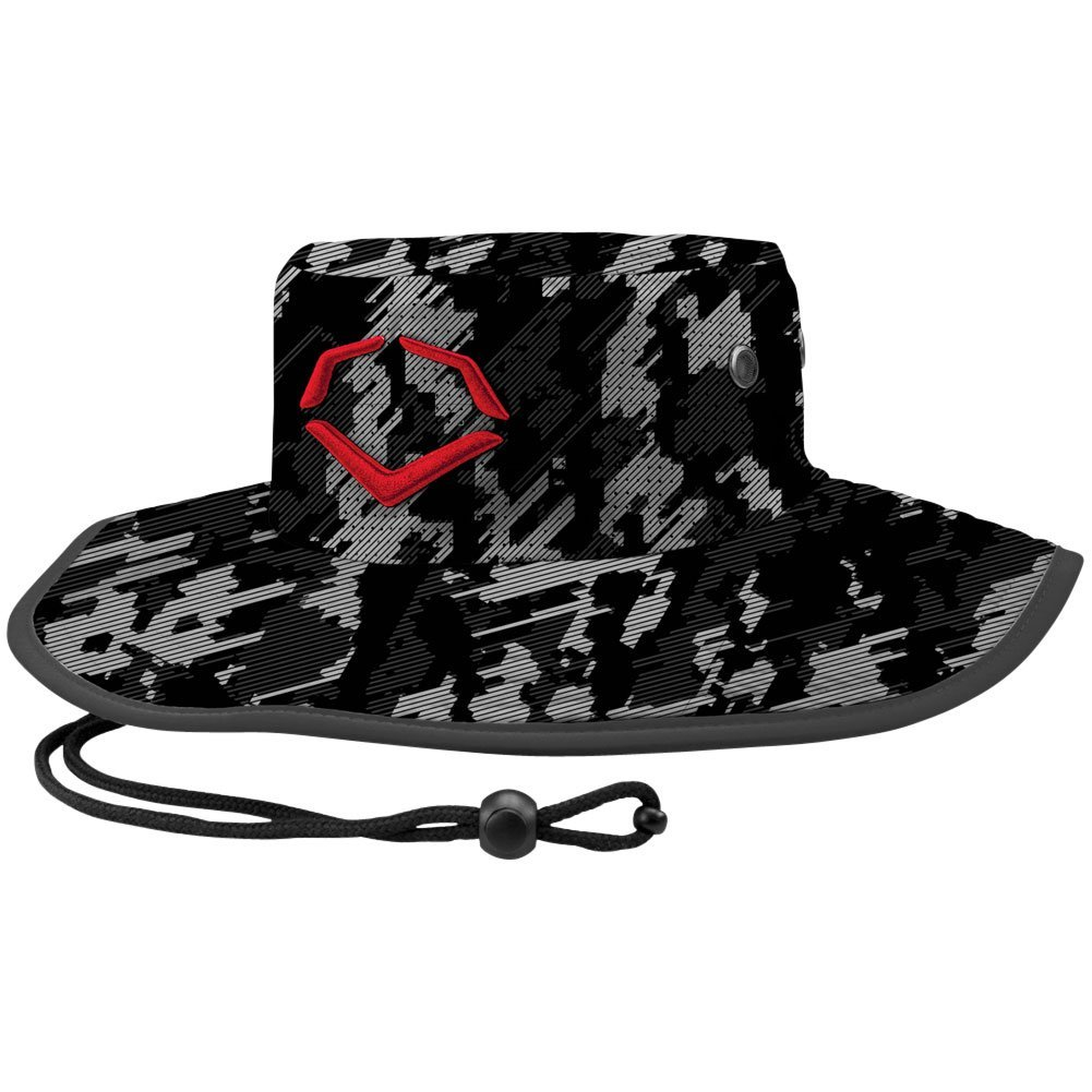 wilson-sporting-goods-unisex-evoshield-logo-bucket-hat-camo-one-size-fits-most WTV1036000056OSFM Wilson 840041121766 100% Polyester <ul> <li><span class=a-list-item> Imported </span></li> <li><span class=a-list-item> Embroidered EvoShield
