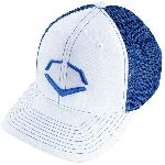 wilson sporting goods unisex evoshield royal steed stripe mesh flexfit hat small medium