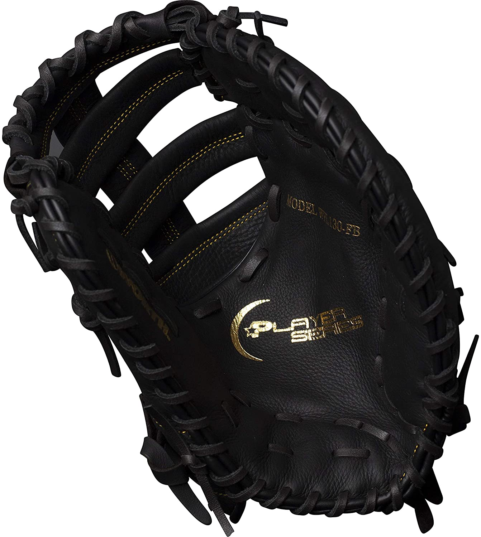 worth-player-series-13-inch-first-base-mitt-slowpitch-softball-glove-right-hand-throw WPL130-FB-RightHandThrow  658925043246 Player series from Worth is a Slow Pitch softball glove featuring